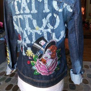 🔥 Ed hardy denim jacket